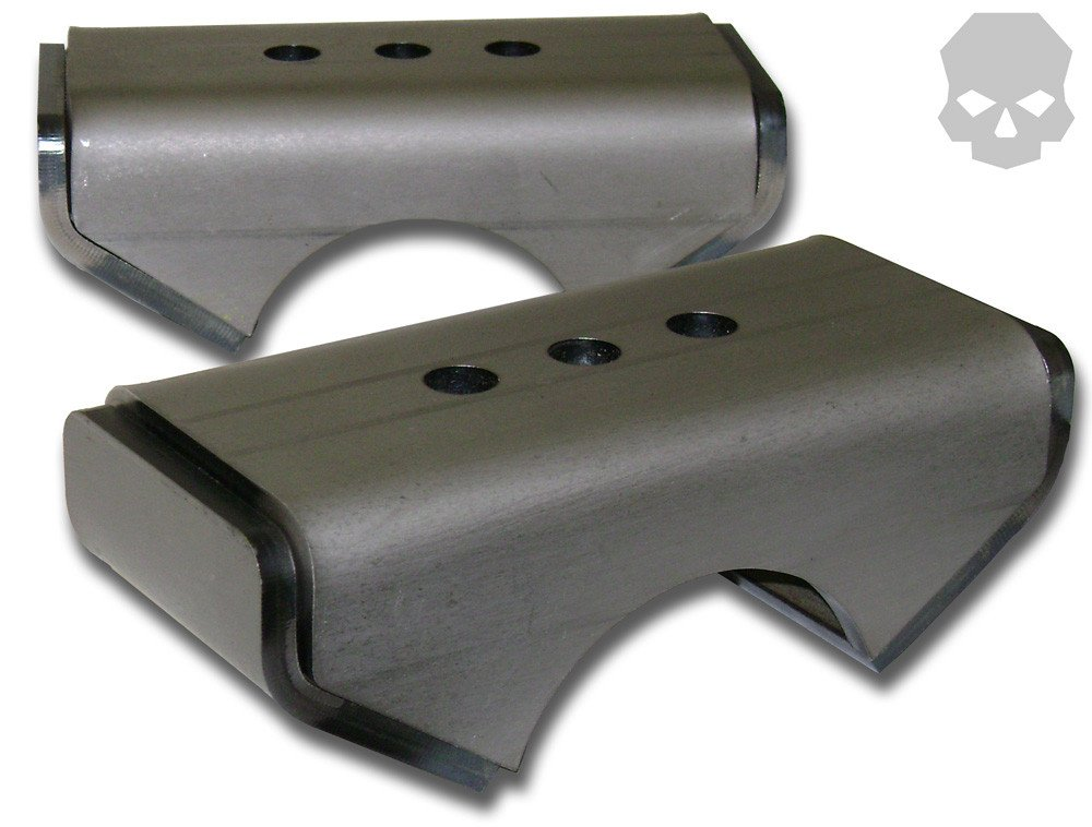 Leaf Spring Perch: 2.5' Leaf Spring, 2.5' Axle Diameter 2.5 Axle Diameter Ballistic Fabrication
