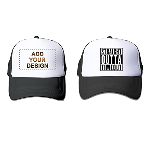 Amazon.com  UC-DIY Printing Custom Kids  Breathable Trucker Mesh Hat ... d77f4687c7d