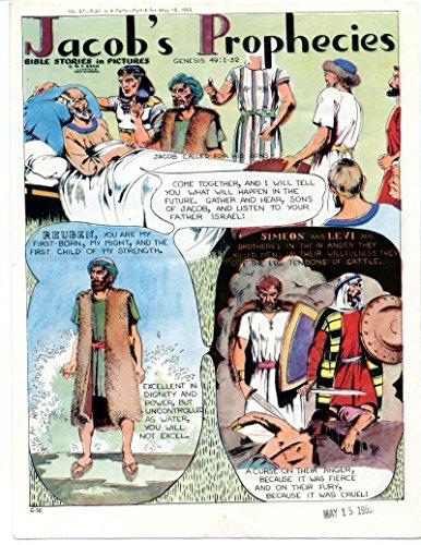 (Bible Stories in Pictures #47 Part 4 May 15 1955 Jacob's Prophecies)