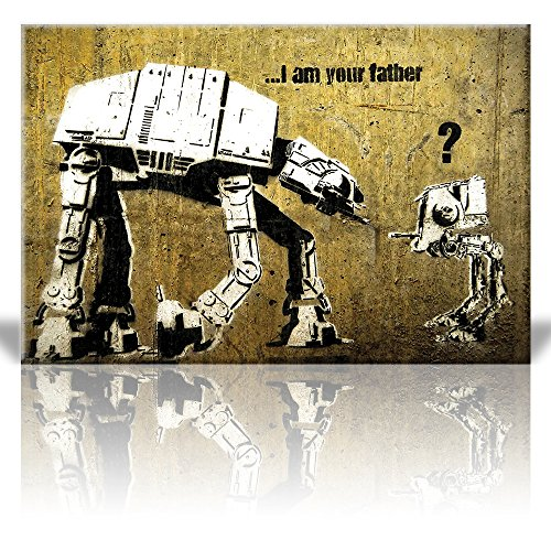 Print I am your Father AT AT and AT ST Street Art Guerilla Banksy Street Artwork