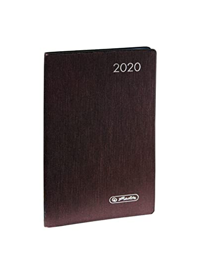 Herlitz Metallic - Agenda de bolsillo 2020, DIN A7, color ...