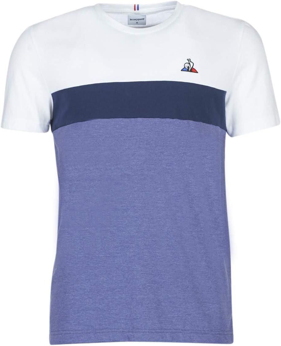 Le Coq Sportif Tri Saison SS N°1 Camiseta, Hombre: Amazon.es ...