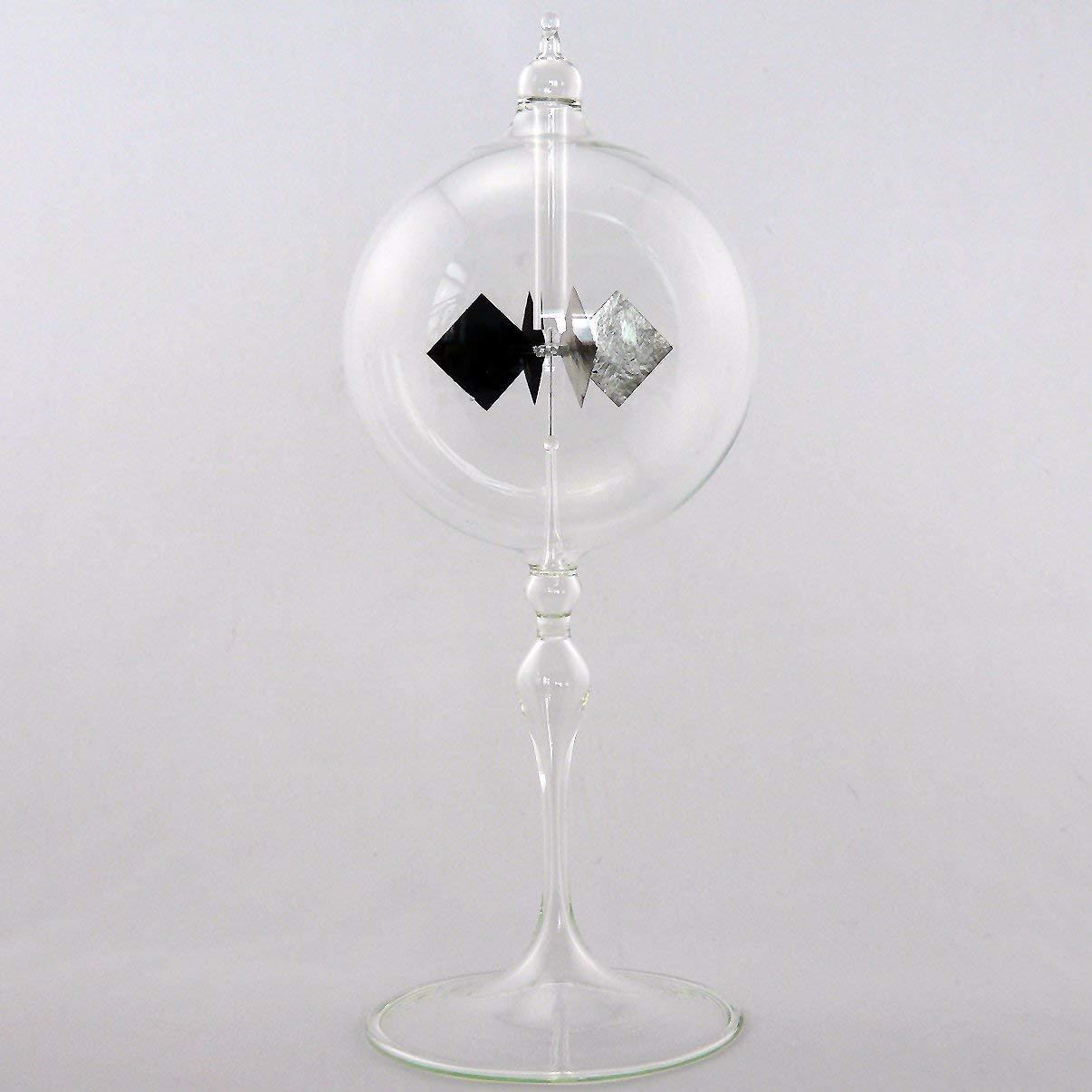 Radi/ómetro Solar Radi/ómetro Parado Alto Pies 100mm Vidrio Transparente