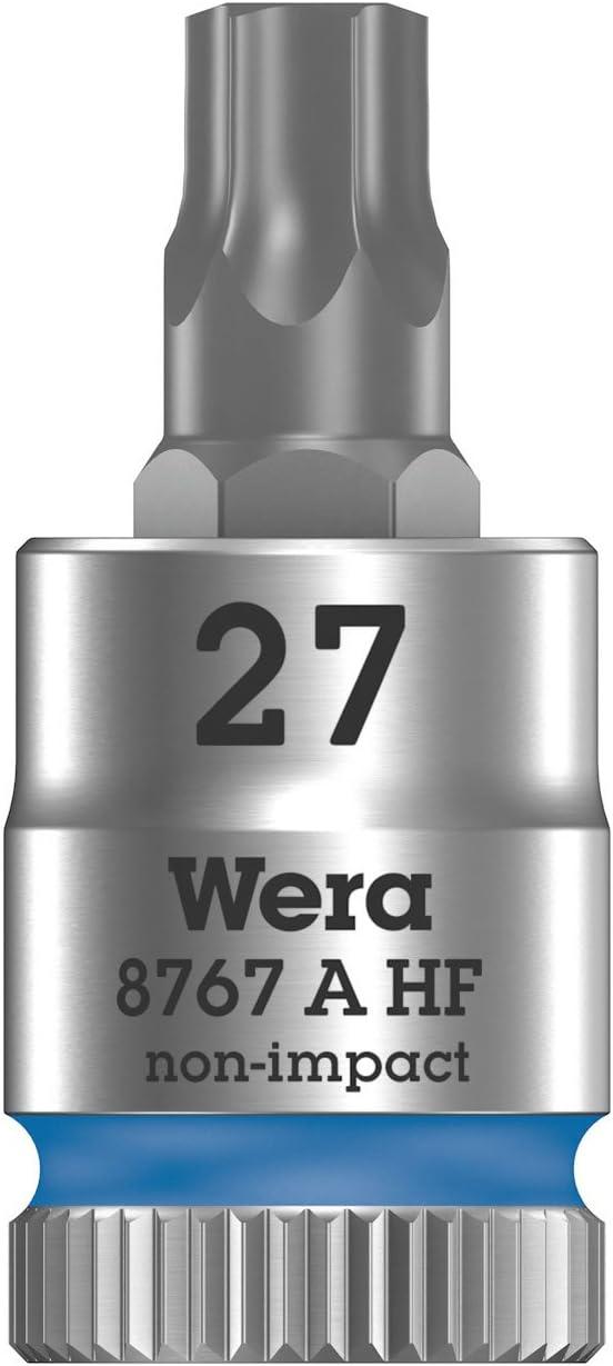 Wera 05003372001 8767 A Douille-Embout Torx HF Zyklop /à emmanchement 1//4 avec Fonction de retenue TX 40 x 100 mm Rouge