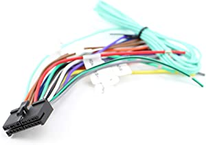 Xtenzi 20 Pin Car Radio Wire Harness Compatible with Dual CD DVD Navigation In-Dash - XT91096