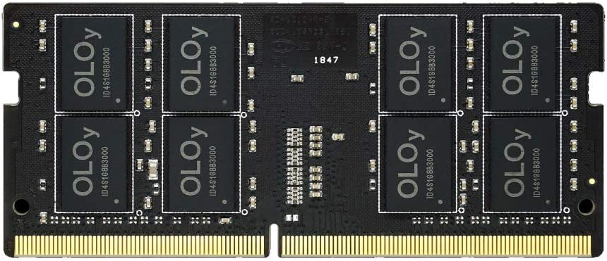 OLOy DDR4 RAM 8GB (1x8GB) 2666 MHz CL19 1.2V 260-Pin Laptop Gaming SODIMM for Intel (MD4S082619IZSC)