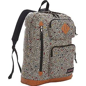 JanSport Houston Laptop Backpack- Sale Colors (Neutral Peruvian Maze)