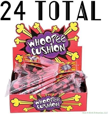 party joke supplies whoopie wholesale lot 24 Fart Whoopee Cushion