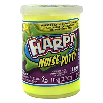 JA-RU Flarp Noise Putty (Pack of 1 Unit) Stress Toy Party Favor Squish to Make Gas Sounds | Item #10041-1D: Toys & Games