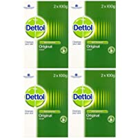 Dettol Bar Soap Original 2 x 100g (Pack of 4)