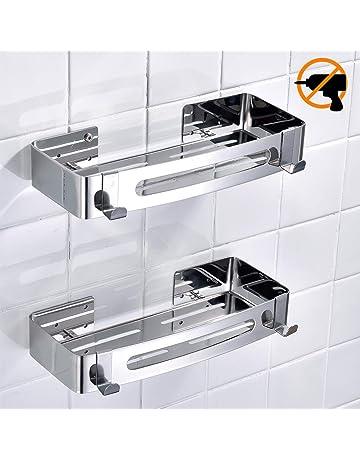 Estantes para ducha | Amazon.es