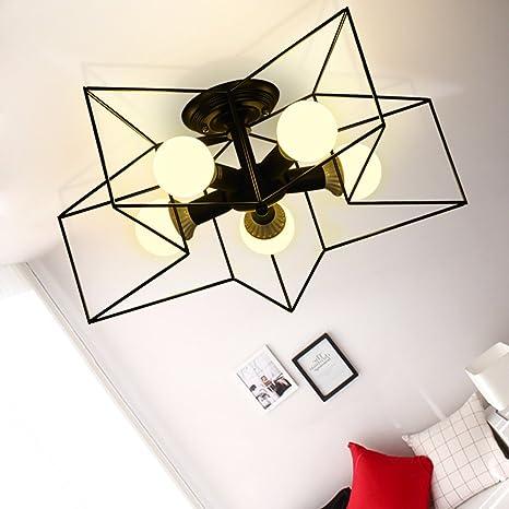 G-W-J Lámpara De Techo Moderna Minimalista Lámpara De ...