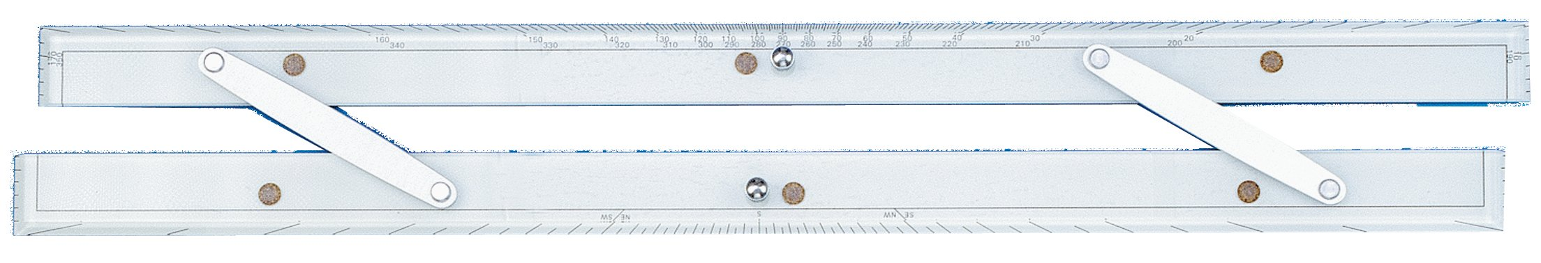 Weems & Plath Marine Navigation Parallel Ruler (24-Inch) by Weems & Plath
