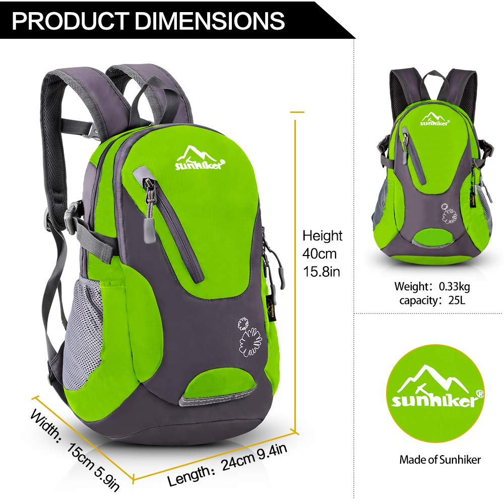 MIYCOO 45L Lightweight Packable Travel Hiking Backpack Daypack for Men /& Women Handy Foldable Camping Outdoor