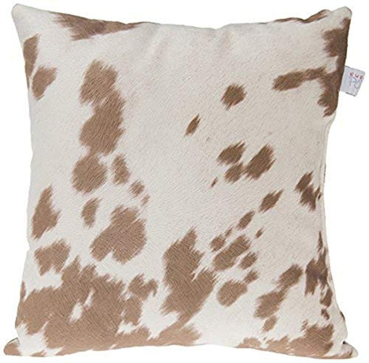Sweet Potato Happy Trails Pillow, Cow