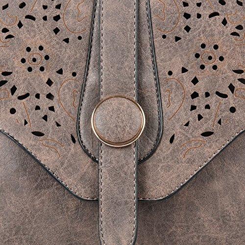 Jaune Taupe Sac à Sac Femme Portable d'épaule Pochette GLITZALL mode Téléphone Bandoulière la Petit Messenger qcO6gcBw