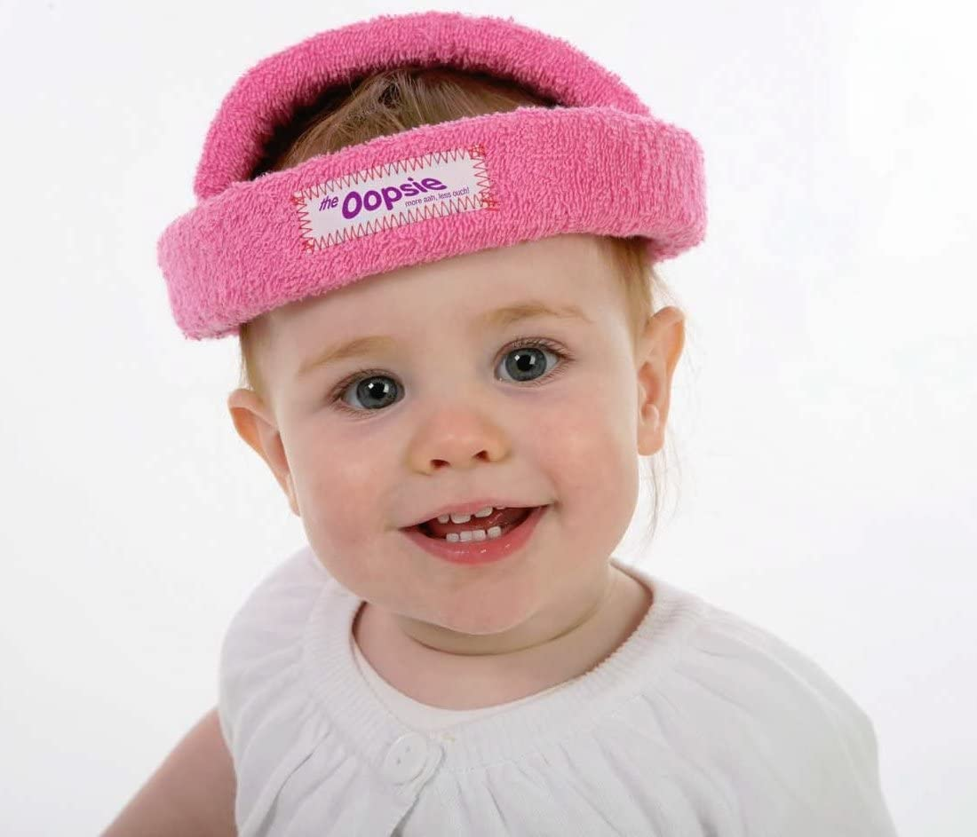 Fliyeong Cute Baby Toddler Learn to Walk Safety Helmet Adjustable Anti-Collision Cap Headguard for Boy and Girl