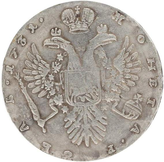 JJZHY Moneda Águila de Doble Cabeza Moneda Conmemorativa Antigua Moneda de Colección de Monedas,Moneda conmemor,Un tamaño: Amazon.es: Deportes y aire libre