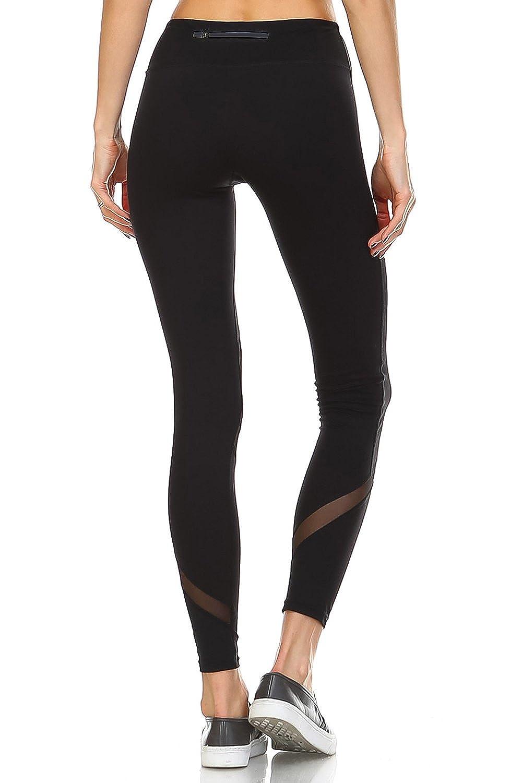 64e2c590c3590 Mono B Women's Performance Activewear - Yoga Leggings with Sleek Contrast  Mesh Panels at Amazon Women's Clothing store: