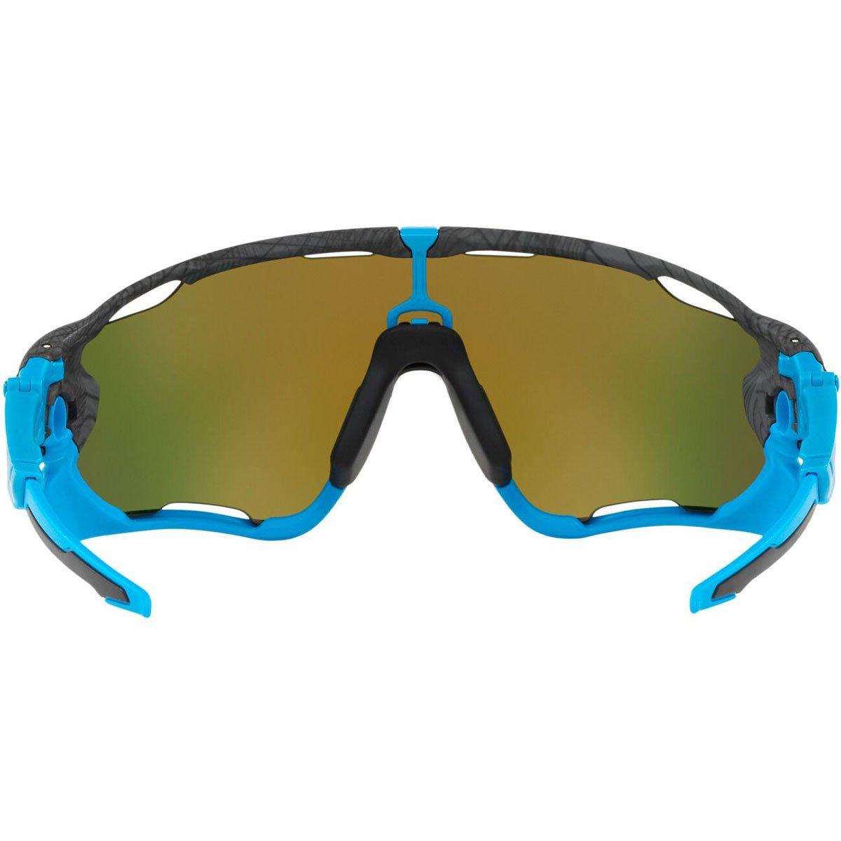 80ba144b3 Amazon.com: Oakley Men's Jawbreaker Non-Polarized Iridium Rectangular  Sunglasses, AERO GRID GREY, 0 mm: Clothing