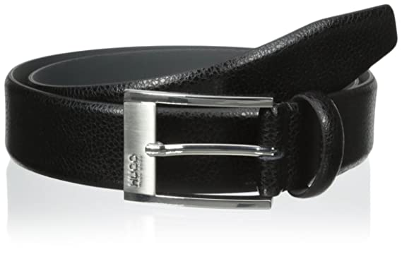 detailed pictures new style of 2019 fashion style Hugo Boss Ellot Textured Leather Men's Belt C-Ellot