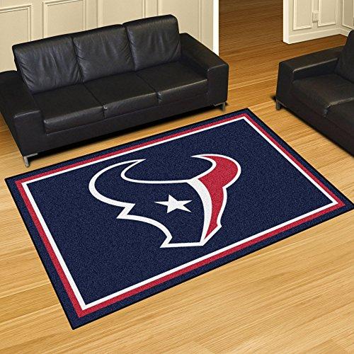 FANMATS NFL Houston Texans Nylon Face 5X8 Plush Rug by Fanmats (Image #1)