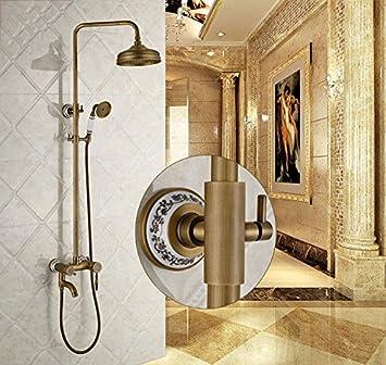 KaO0YaN-Shower Europeo Antiguo Ducha Set De Ducha Cobre Baño ...