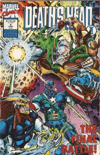 Death's Head II #4 Vol. 1 June 1992