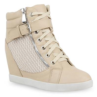Chaussures Stiefelparadies marron femme 7BqzT
