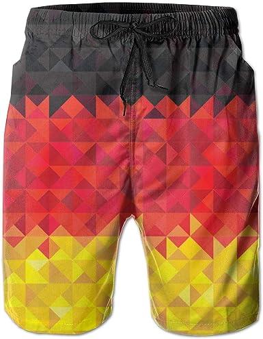 NA Shorts de Playa Cortos con bañador para Hombre, Bandera de Alemania: Amazon.es: Ropa y accesorios