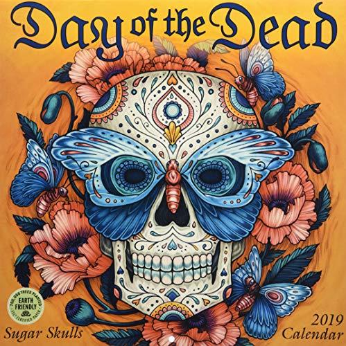 Day of the Dead 2019 Wall Calendar: Sugar Skulls
