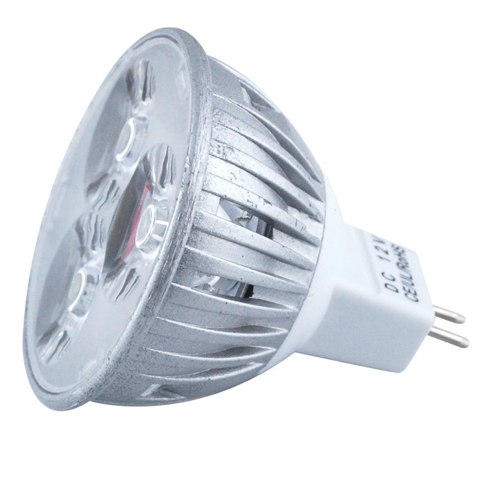 Excellent MR16 Warm White Energy Efficient DC 12V 4W LED Bulb 150LM Lamps Spot Lights for for Artwork Lighting (Pack of 4)