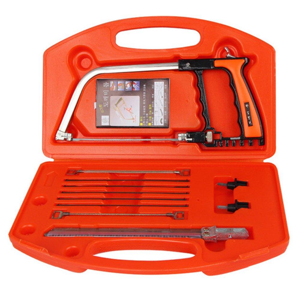 Firiodr 11 in 1 Saw Multifunction Hand DIY Saw Wood Glass Saw Cutting Metal Wood Glass Plastic Rubber 10 Cutters