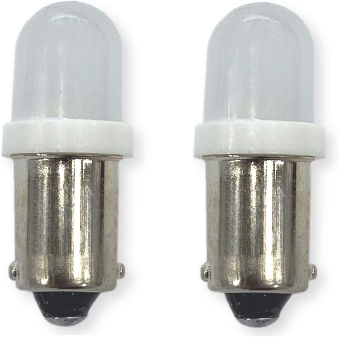 #1813, 1816 Miniature Bayonet Bulb LED Replacement | 12/14-Volt | Ba9s Base | Bulb Shape: T10 and T3 1/4 | Replaces Bulb Numbers: 1813 1815 1816 1893 1898 756 and Others