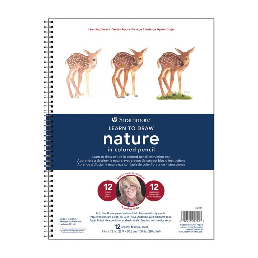 Strathmore (25-150 200 Learning Series Watercolor Flowers Pad