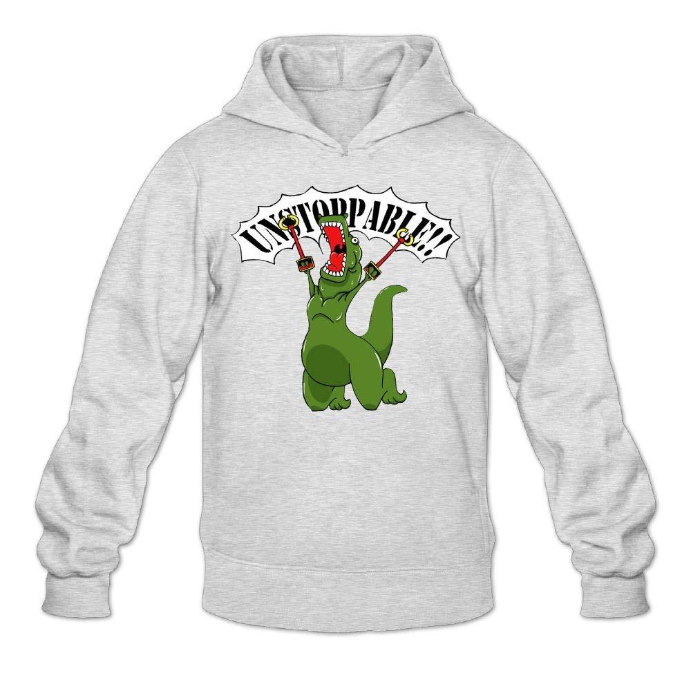 Kkajjhd Unstoppable T-Rex Sweatshirt Autumn Winter Mens Long Sleeve Pullovers