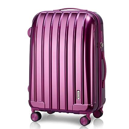 Amazon.com: Mei Xu Luggage Sets Pull Rod Box - Fashion Shell ...
