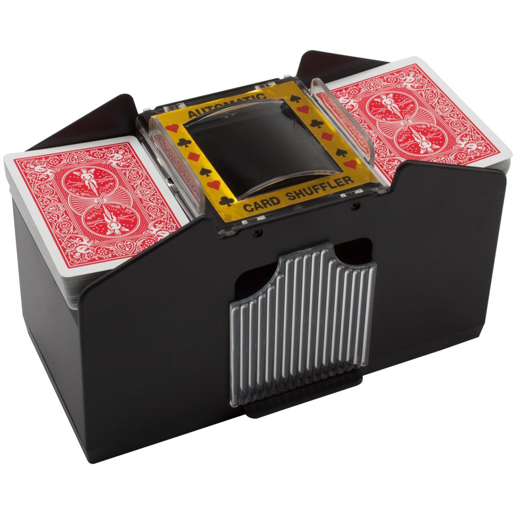 Automatic Card Shuffler For Poker/Casino Games (Plastic; 4-Decks)