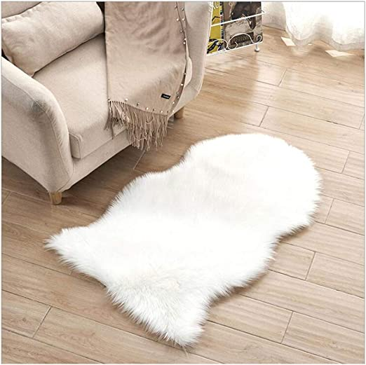 Fluffy Area Rug Chair Seat Cushion Carpet for Home Decor Christmas Wedding Gifts