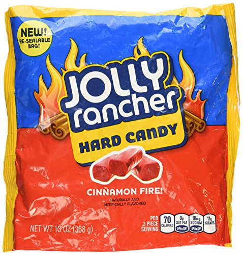 Cinnamon Jolly Ranchers - Jolly Rancher Cinnamon Fire Hard Candy, 13-Ounce (Pack of 3)