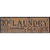 Laundry Burlap Canvas