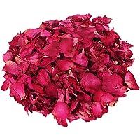 Vosarea Pétalos de Rosa Secos Flor Real Roja