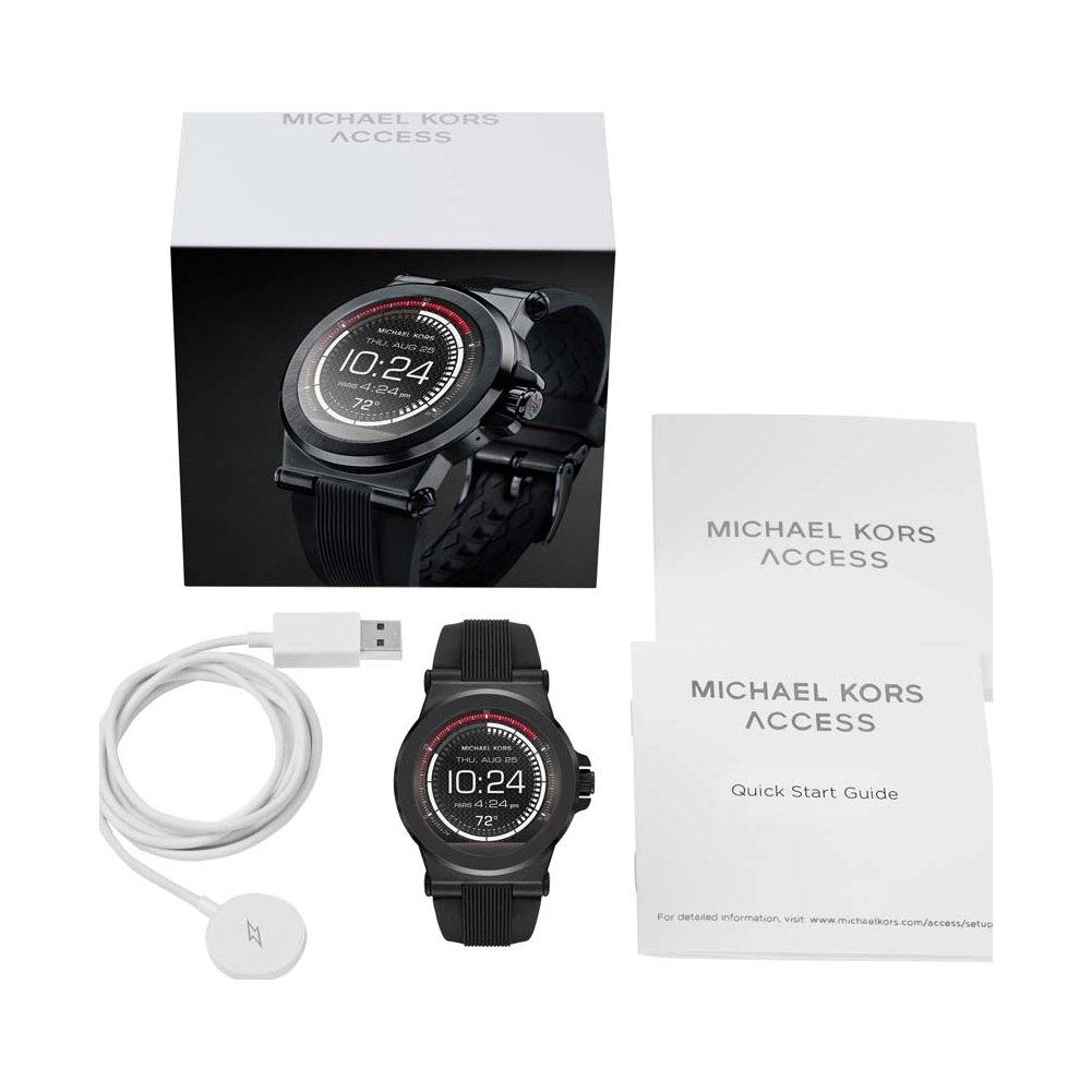 Michael Kors Reloj para Hombre de Digital con Correa en Silicona MKT5011: Amazon.es: Relojes