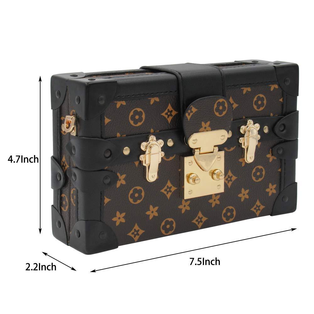 d10f40d05 Sinianer Retro Crossbody Bag Purse for Women Fashion Shuldder Bag Ladies  Box Bag (gray): Handbags: Amazon.com