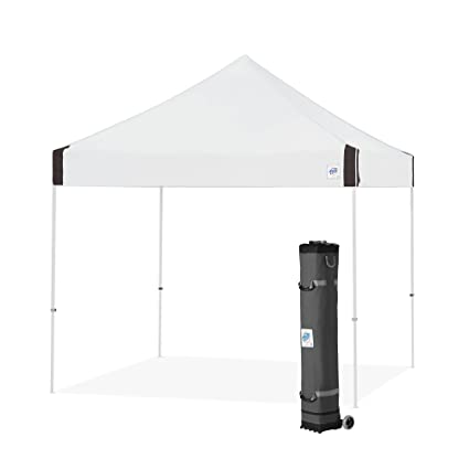 hot sale online 985fc 3caff EZ UP Vantage Instant Shelter Canopy, 10 by 10', White