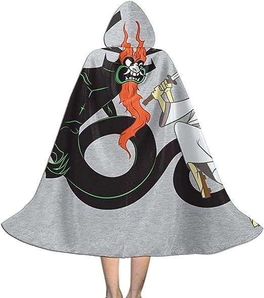 Not Applicable Disfraz De Mago,Mata A Tu Dragón Samurai Jack Capa ...