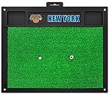 Fanmats NBA New York Knicks Team Logo 20x17 Inch Golf Hitting Mat Heavy Duty