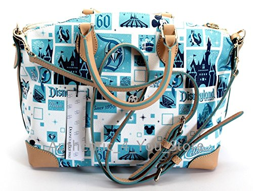 Purse amp; Disney Crossbody Satchel Celebration Disneyland Bourke Diamond 60th Dooney Bag 1Fx7qz6