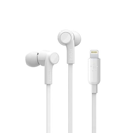 b3e09533566 Belkin Rockstar iPhone Headphones with Lightning Connector (Lightning  Headphones for iPhone Xs, XS Max