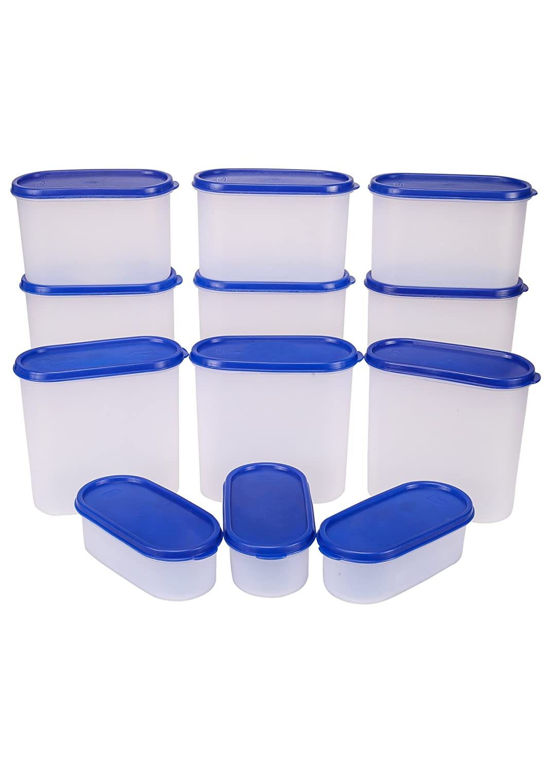 TallBoy Mahaware Plastic Modular Oval Container Set